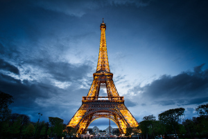 Paris, The Eiffel Tower (Tour Eiffel) I